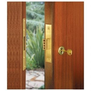Secure Replacement Lock Fitted in Door